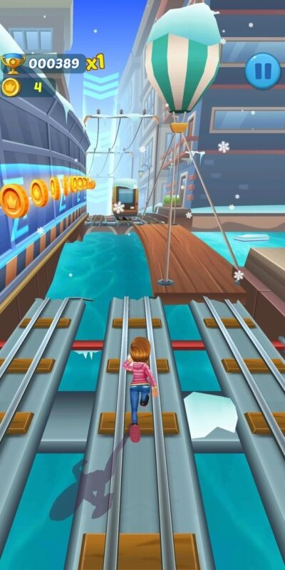 Скриншот Subway Princess Runner для Android