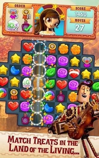 Скриншот Sugar Smash: Book of Life для Android