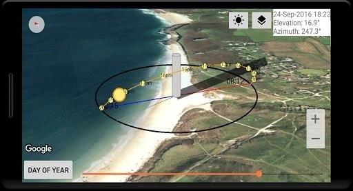 Скриншот Sun Locator Pro для Android