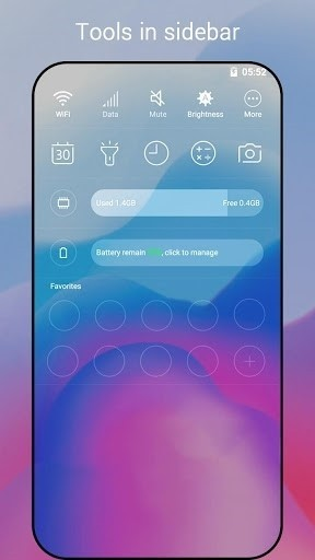 Скриншот Super P Launcher Android P (9.0) для Android