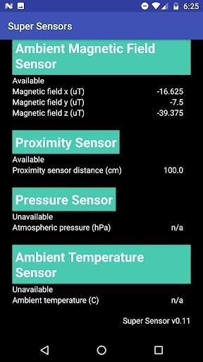 Скриншот Super Senso для Android