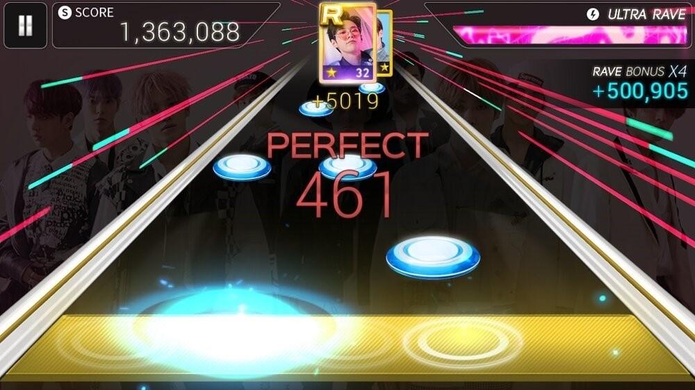 Скриншот SuperStar SMtown для Android