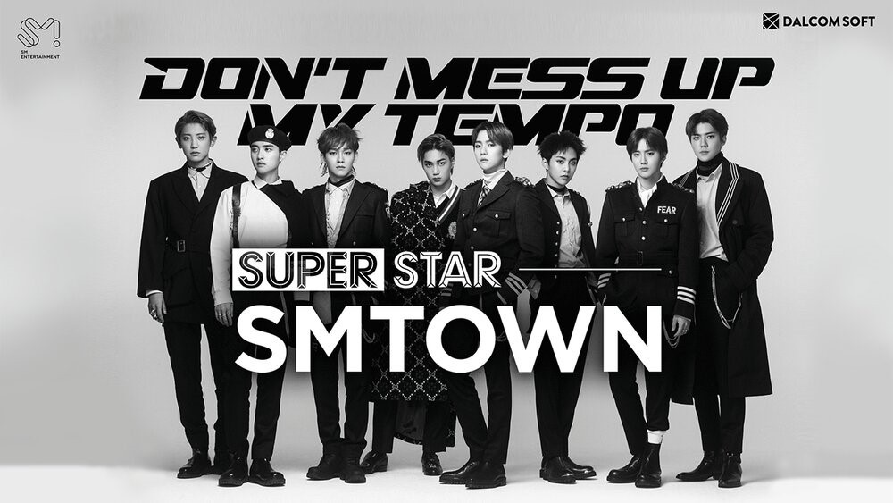 Скриншот SuperStar SMtown для Android