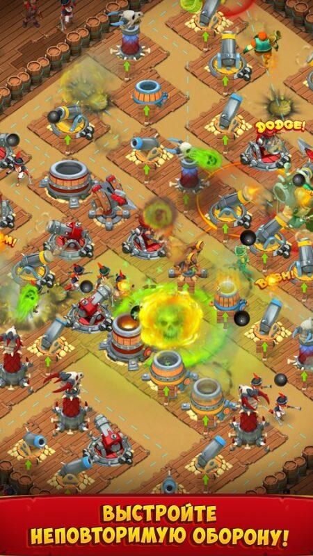 Скриншот Survival Arena для Android