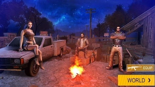 Скриншот Survivalist: invasion для Android