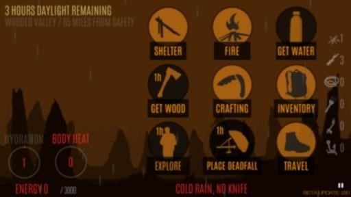 Скриншот Survive — Wilderness survival для Android