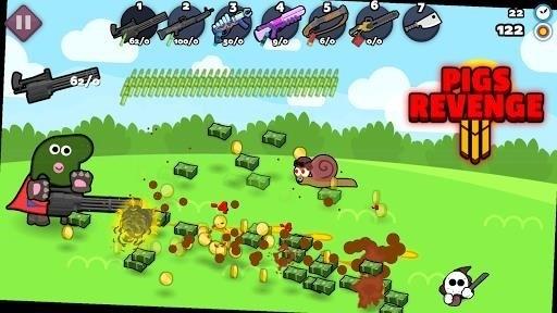 Скриншот Свиньи мстят 2 для Android