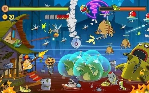 Скриншот Swamp Attack для Android