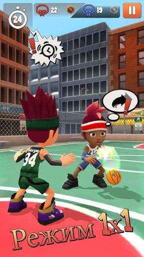 Скриншот Swipe Basketball 2 для Android