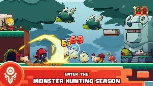 Скриншот Sword Man Monster Hunter для Android