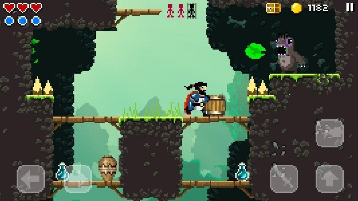 Скриншот Sword Of Xolan для Android