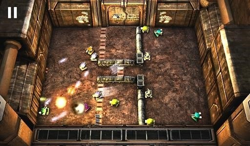 Скриншот Tank Hero Laser Wars для Android
