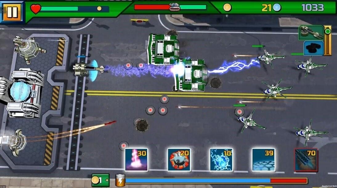 Скриншот Tank ON 2 Jeep Hunter для Android