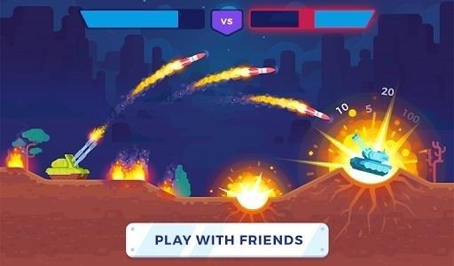 Скриншот Tank Stars для Android