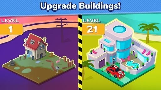 Скриншот Taps to Riches для Android