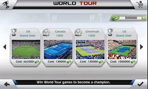 Скриншот Теннис пальцем 3D — Tennis для Android