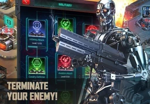 Скриншот Terminator Genisys: Future War для Android