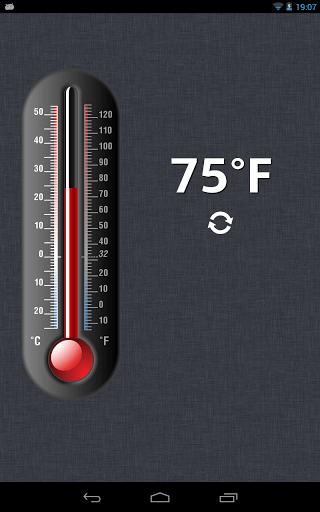 Скриншот Термометр для Android