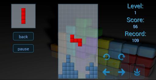 Скриншот Тетрис для Android