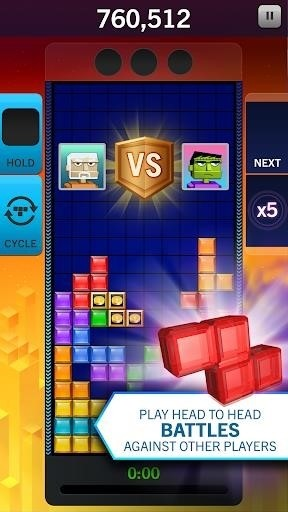 Скриншот Tetris Blitz для Android