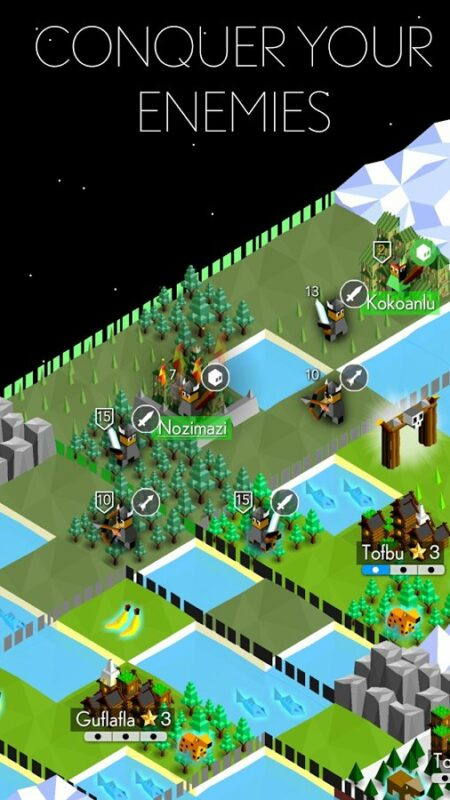 Скриншот The Battle of Polytopia для Android