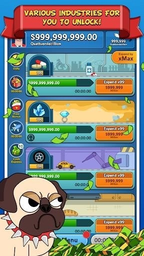 Скриншот The Big Capitalist для Android