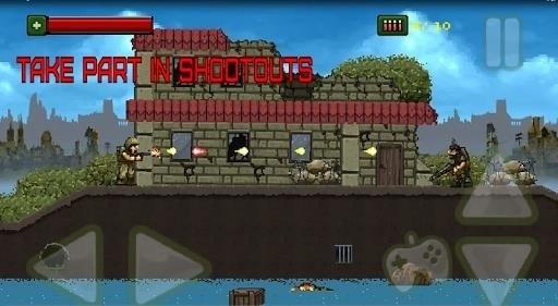 Скриншот THE BRUTAL COMMANDO для Android