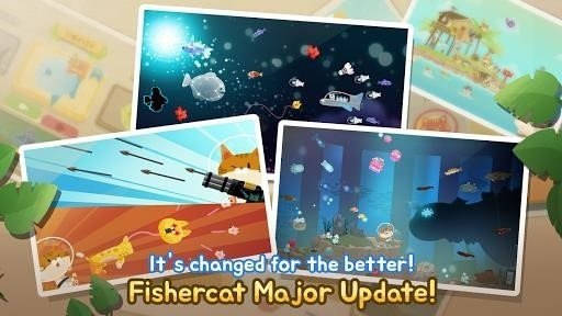 Скриншот The Fishercat для Android