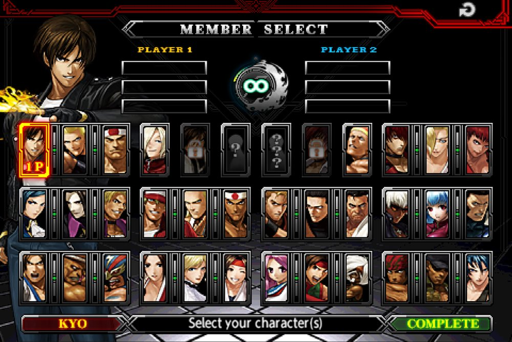 Скриншот The King of Fighters для Android