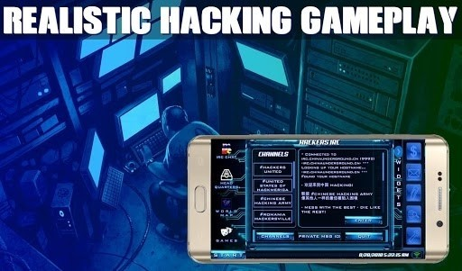 Скриншот The Lonely Hacker для Android