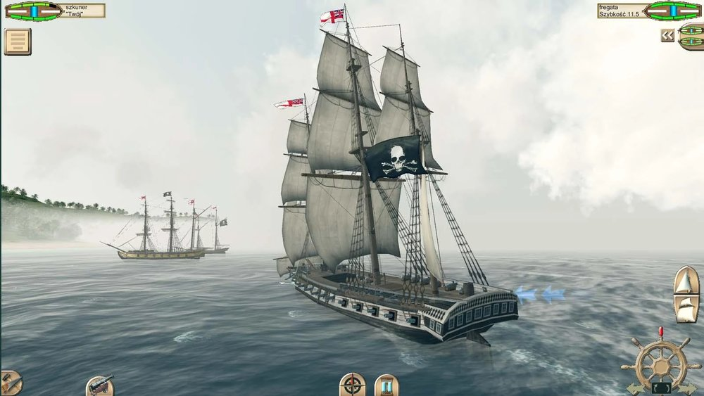 Скриншот The Pirate: Caribbean Hunt для Android