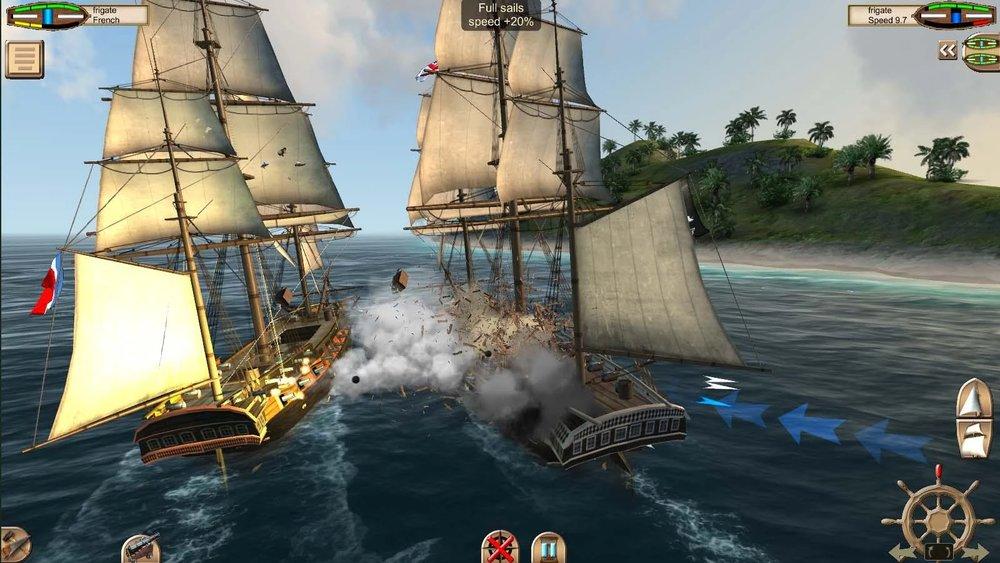 Скриншот The Pirate: Caribbean Hunt для Android