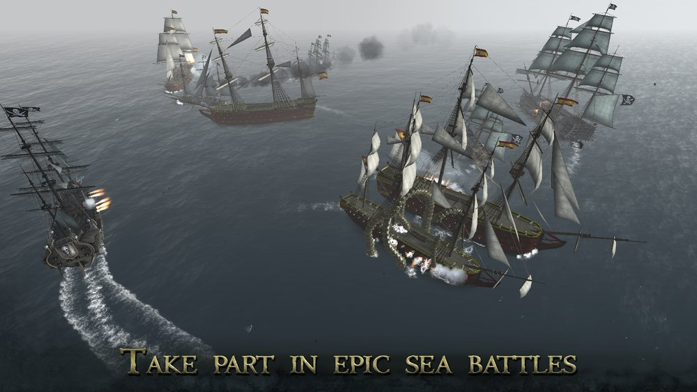 Скриншот The Pirate: Plague of the Dead для Android