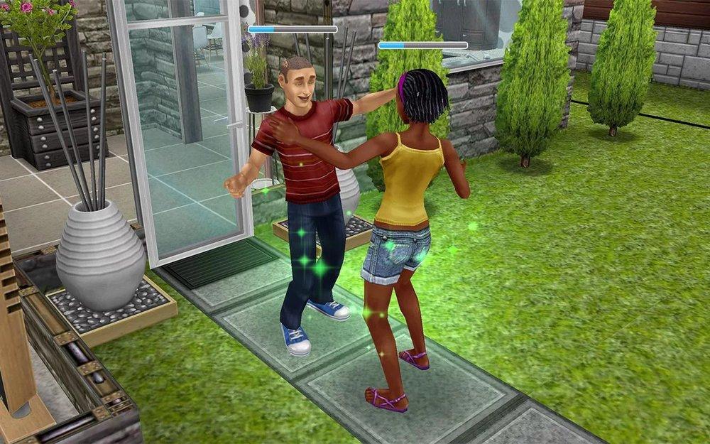 Скриншот The Sims FreePlay для Android
