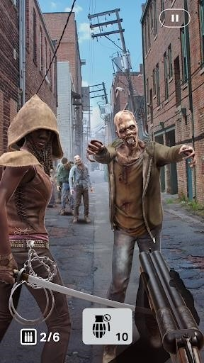 Скриншот The Walking Dead: Our World для Android