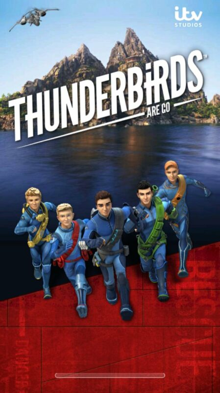 Скриншот Thunderbirds Are Go: Team Rush для Android