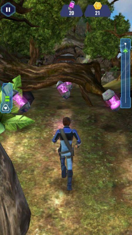 Скриншот Thunderbirds Are Go: Team Rush для Android