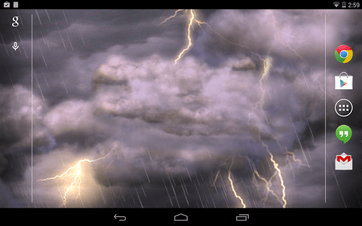 Скриншот Thunderstorm для Android