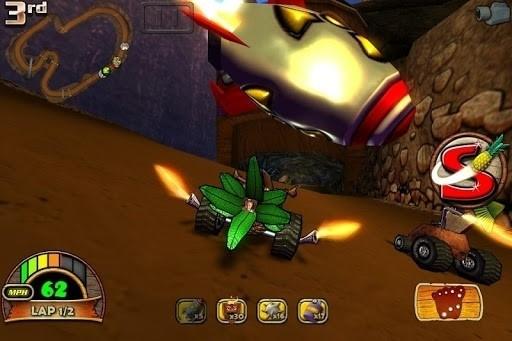 Скриншот Tiki Kart 3D для Android