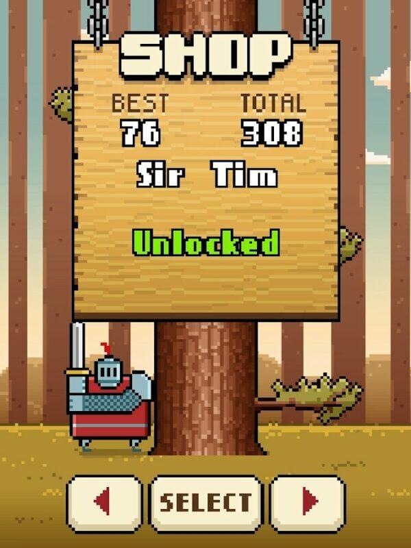 Скриншот Timberman для Android