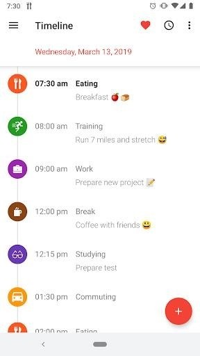 Скриншот TimeTune — Optimize Your Time для Android