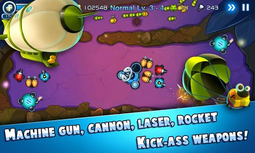 Скриншот Tiny Defense для Android