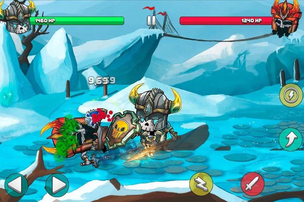 Скриншот Tiny Gladiators для Android