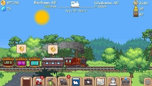 Скриншот Tiny Rails для Android