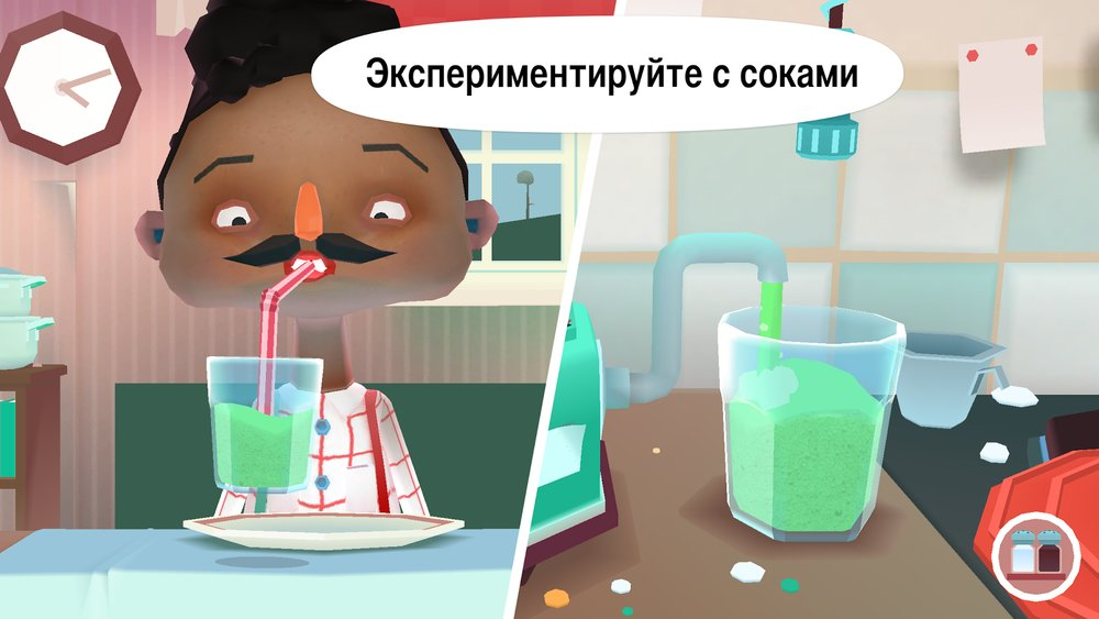 Скриншот Toca Kitchen 2 для Android