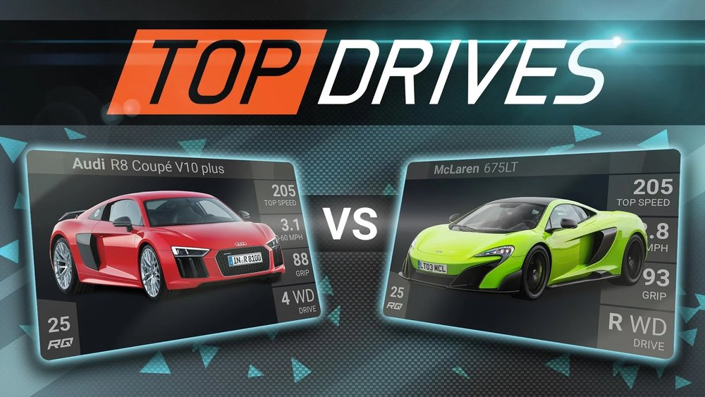 Скриншот Top Drives для Android