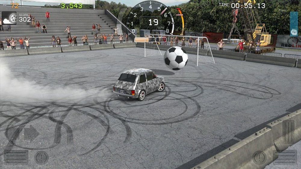 Скриншот Torque Burnout для Android