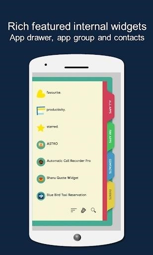 Скриншот Total Launcher для Android