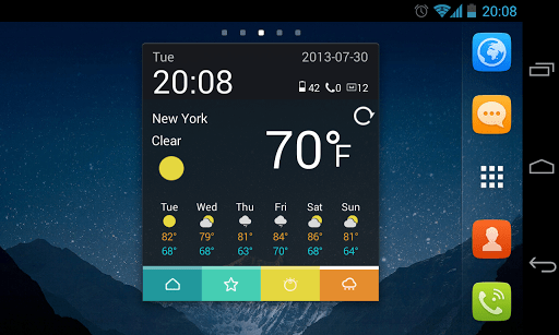 Скриншот Toucher для Android