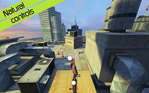 Скриншот Touchgrind BMX для Android